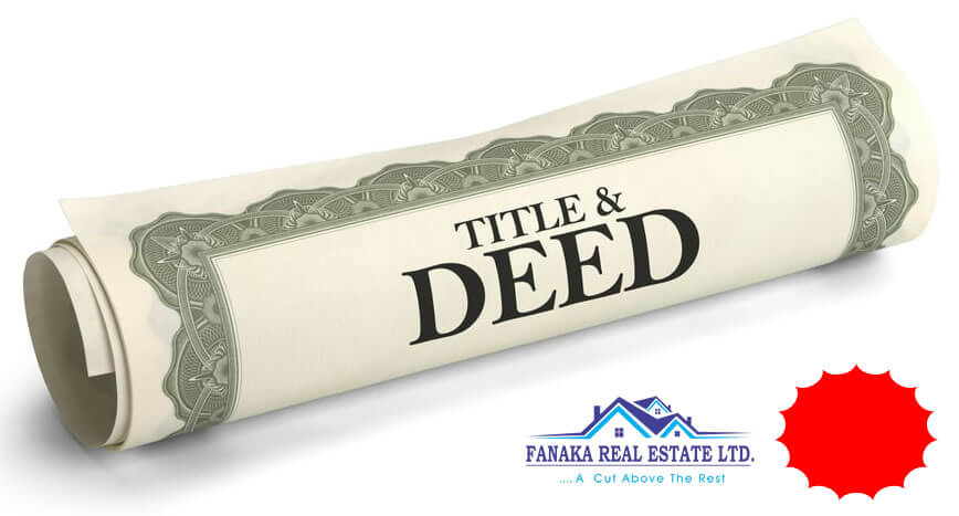 Read more about the article Title Deed Acquisition Procedure In Kenya