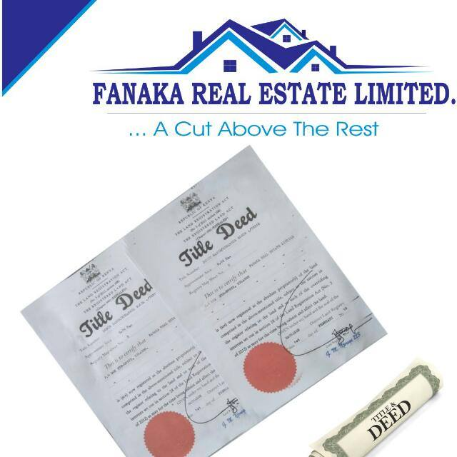 title deed when attending a site visit