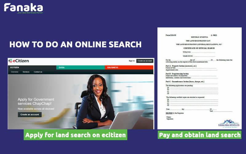 land search
