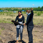 site visit when buying plots