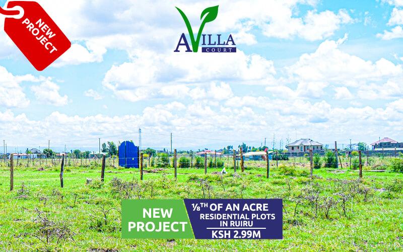 plots for sale in Ruiru