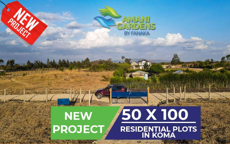 Amani gardens buy fanaka koma kangundo road plots for sale